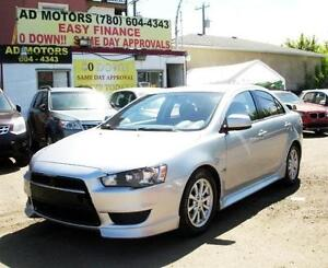 SALE! 2012 MITSUBISHI LANCER SE AUTO SPORTY SEDAN 100% FINANCING