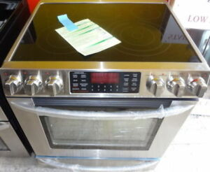 STAINLESS STEEL APARTMENT SIZE FRIDGE & STOVE FOR YOUR RENTAL