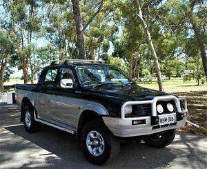 1999 Mitsubishi Triton MK GLX (4x4) Black 5 Speed Manual 4x4 Utility Pooraka Salisbury Area Preview