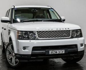 2011 Land Rover Range Rover Sport L320 11MY TDV6 Autobiography White 6 Speed Sports Automatic Wagon Rozelle Leichhardt Area Preview