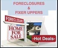 ***FORECLOSURES - FIXER UPPERS***