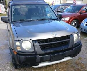 2004 NISSAN XTERRA XE 4X4 SUV SAFETIED FOR $5995+HST!