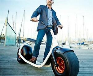T4B Fat Tire Electric Scooter Motorcycle Lithium 60V12ah, 32kmh+
