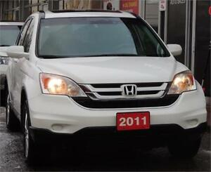 2011 Honda CR-V EX-L*LEATHER*SUNROOF*4WD*NAVIGATION