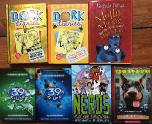 Hardcover CHILDREN'S NOVELS $5 each or all 7 for $25