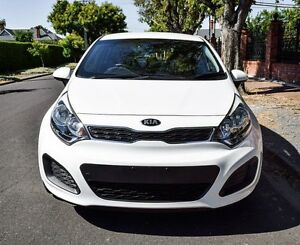 2013 Kia Rio UB MY13 S White 4 Speed Sports Automatic Hatchback Medindie Walkerville Area Preview