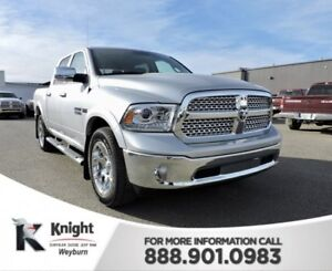 2017 Ram 1500 Laramie Heated/Cooled Leather NAV Remote Start