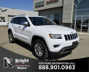 2016 Jeep Grand Cherokee Limited Heated/Cooled Leather Remote St