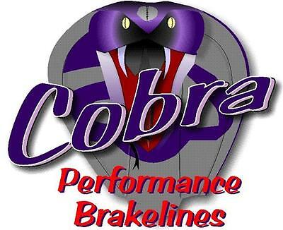 Cobra Performance Brake Hoses