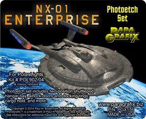 Paragrafix PGX176 NX-01 Enterprise Photo Etch Details for POL 902/04 -PREORDER