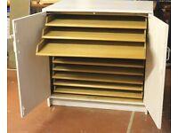 10 drawer plan chest