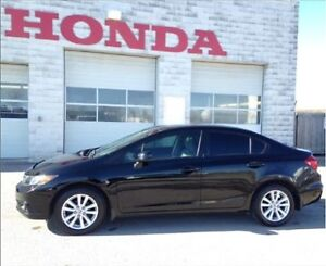 CERTIFIED & ETESTED 2012 HONDA CIVIC EX SEDAN WITH UPGRADES