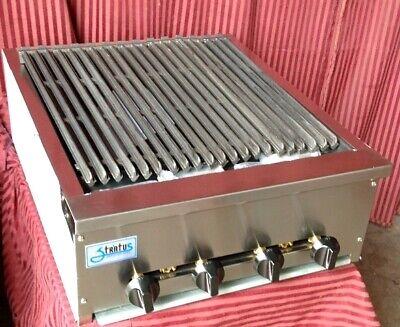 24 Radiant Char Broiler Lp Propane Grill Restaurant Nsf Stratus Srb-24lp 7159