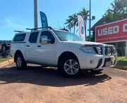 2011 Nissan Navara D40 MY11 ST-X 550 White 7 Speed Sports Automatic Utility Berrimah Darwin City Preview