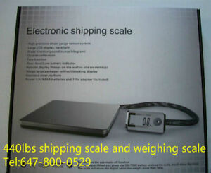 440lbs/200kg shipping scale/warehouse scale/weighing scale