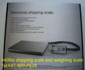 440lbs brand new shipping scale and heavy duty weighing scale