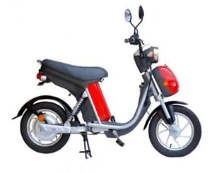 Dragon Eclipse 48 volt moped style e-bike. Great for students.