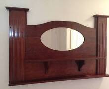 Mantle Piece Solid Jarrah With Mirror Engadine Sutherland Area Preview