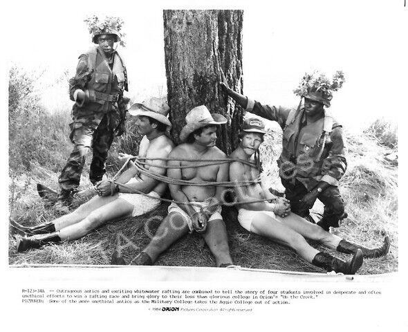 "UP THE CREEK-1984-STEPHEN FURST-B&W 8""x10"" MOVIE STILL FN"
