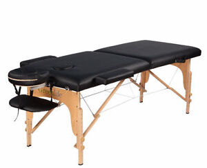 BACK TO STOCK! **2 or 3 Fold portable massage tables with 3''/4'