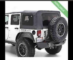 2007 to 2016 JEEP WRANGLER 4/DOOR SOFT TOP (COMPLETE)