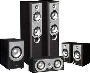 Infinity Primus speakers + Denon AVR 888