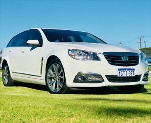 2015 Holden Calais VF II MY16 Sportwagon Heron White 6 Speed Sports Automatic Wagon Kenwick Gosnells Area Preview