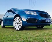 2015 Holden Cruze JH MY15 Equipe Perfect Blue 6 Speed Automatic Hatchback Maddington Gosnells Area Preview
