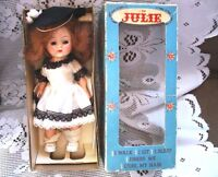 "8"" I AM JULIE -GINNY- DRESS ME ORIGINAL WALKER DOLL IN  BOX"
