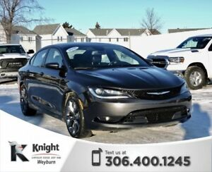 2016 Chrysler 200 S Heated Leather Back-Up Cam Sunroof Remote St