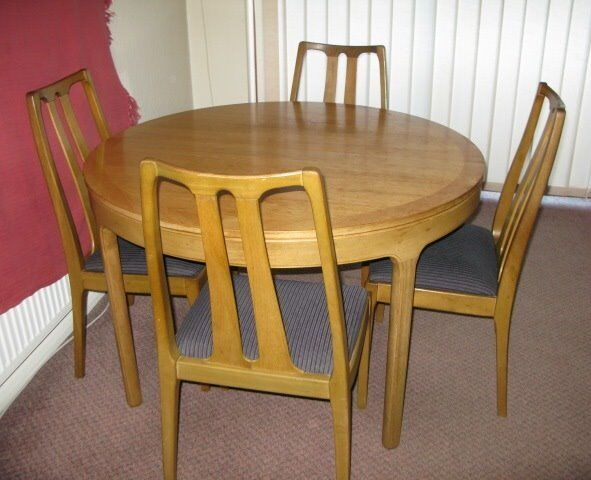 Incredible Nathan 1970S Teak Extending Round Dining Table No Chairs In New Haw Surrey Gumtree Download Free Architecture Designs Scobabritishbridgeorg