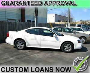 2008 Pontiac Grand Prix Sedan - GUARANTEED APPROVAL - FREE GAS