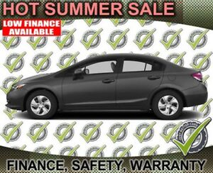 2014 Honda Civic LX, Weekly Payments of $59. Fuel Efficient!