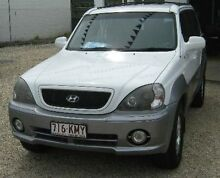 2004 Hyundai Terracan HP MY04 White 4 Speed Automatic Wagon Bungalow Cairns City Preview
