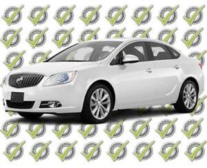 2016 Buick Verano 2.4, Weekly Payments of $49 with $100 Down!