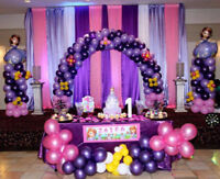 Birthday party/ baby shower/ bridal shower/ Theme balloon decor