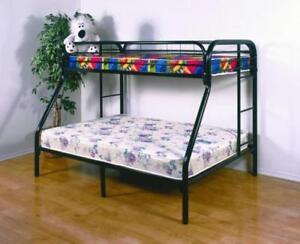 Black Friday Special !! TWIN OVER FULL ELEGANCE METAL BUNK BED