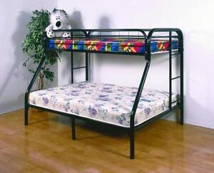 BRAND NEW!! TWIN OVER FULL ELEGANCE METAL BUNK BED ON CLEARANCE