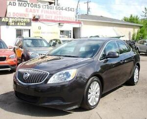 """LOW KLM "" 2013 BUICK VERANO LEATHER AUTO LOADED GORGEOUS BLACK!"