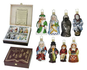 A Christmas Carol Ornament Set - Glass Ornaments by Inge-Glas® Windsor Region Ontario image 1