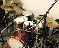 Batterie Gretsch Catalina Maple 7 morceaux (shell kit + clamp)
