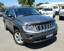 2012 Jeep Compass MK MY12 Sport Silver 5 Speed Manual Wagon Bellevue Swan Area Preview
