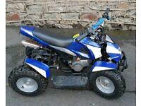 Mini moto quad like new