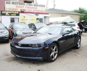 2014 CHEVROLET CAMARO RS SUNROOF BACK-UP CAM REMOTE START SPORTY