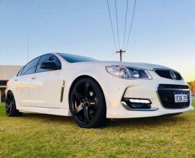 2016 Holden Commodore VF II SV6 White 6 Speed Automatic Sedan