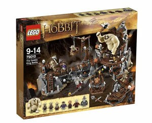 Hobbit LEGO 79010 The Goblin King Battle, NEW