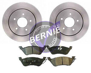 FREINS ARRIERE(A DISQUES) DODGE CARAVAN/GRAND CARAVAN 2001-2007