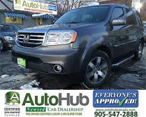 2013 Honda Pilot TOURING NAVI SUNROOF LEATHER SIDE STEP BARS