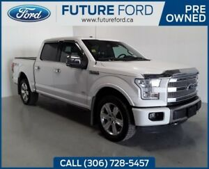 2015 Ford F-150 Platinum|3.5 ECOBOOST|TWIN PANEL MOONROOF|FX4 OF