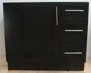New - 1 Door, 3 Drawer Sink Vanity - 30 in 6 colors
